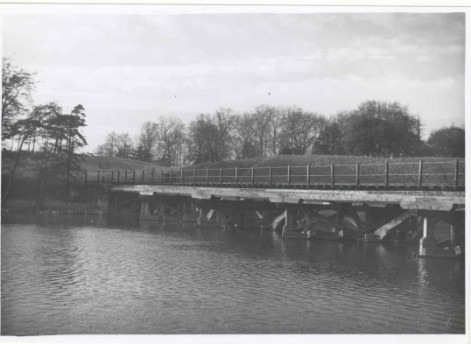 The rail bridge over the Ouse with Castle Hill in the background, Courtesy of CCAN